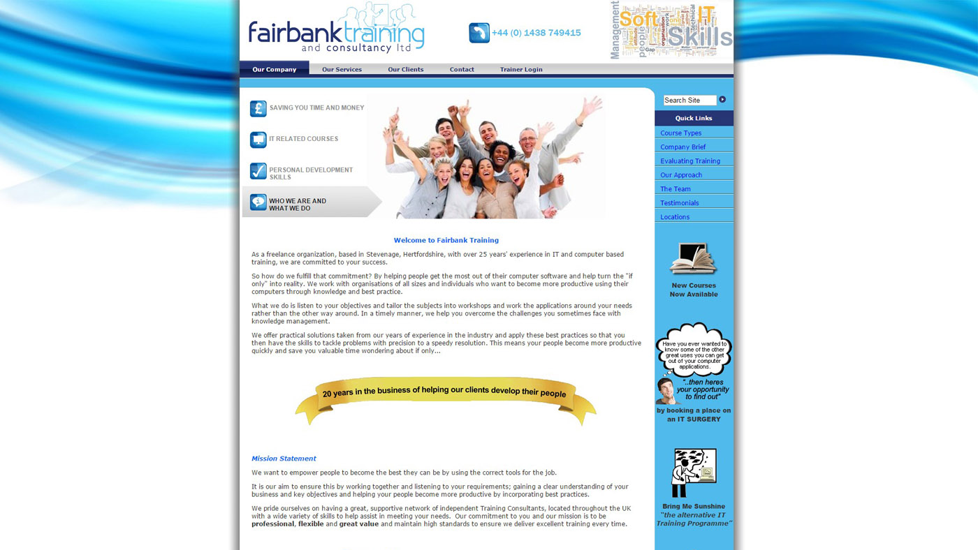 fairbank training and consultancy ltd