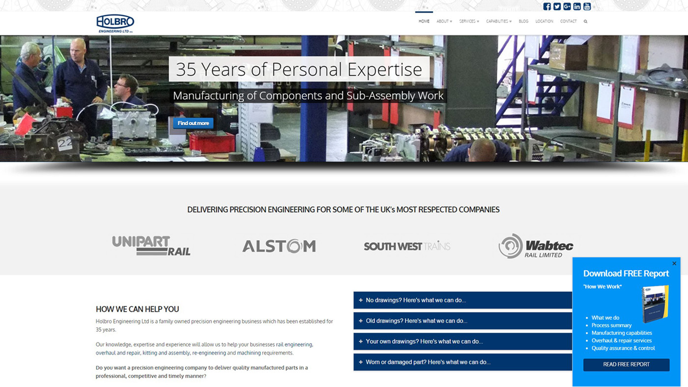 holbro precision engineering