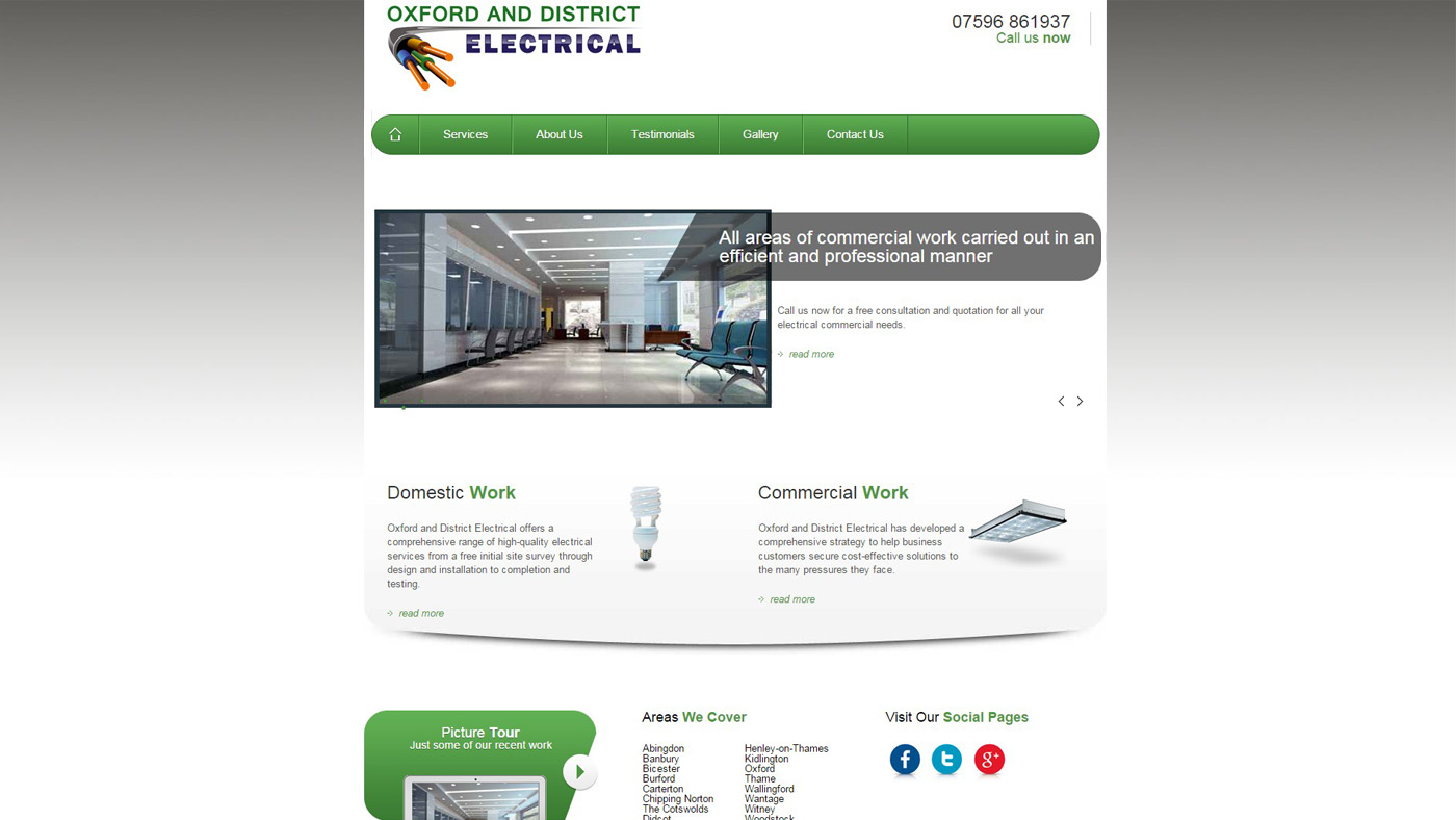 website oxford and district electrical