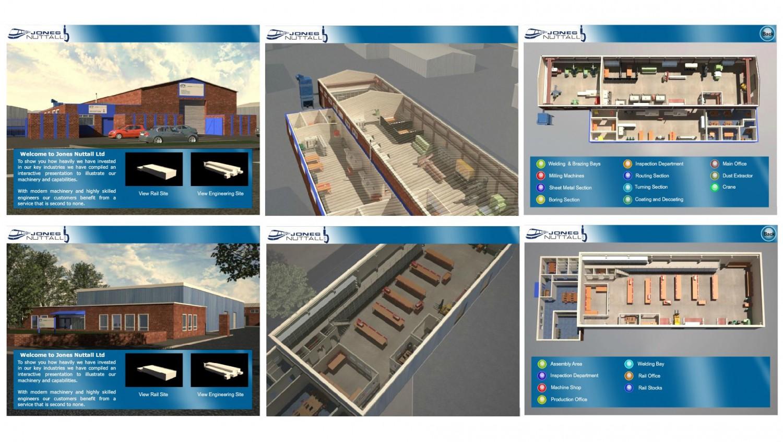 interactive engineering site plan