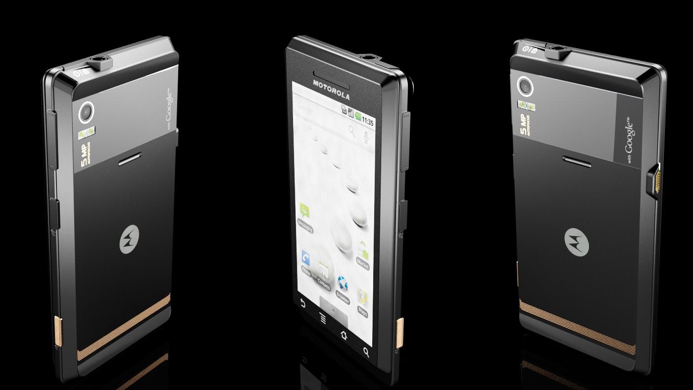 3d motorola mobile phone